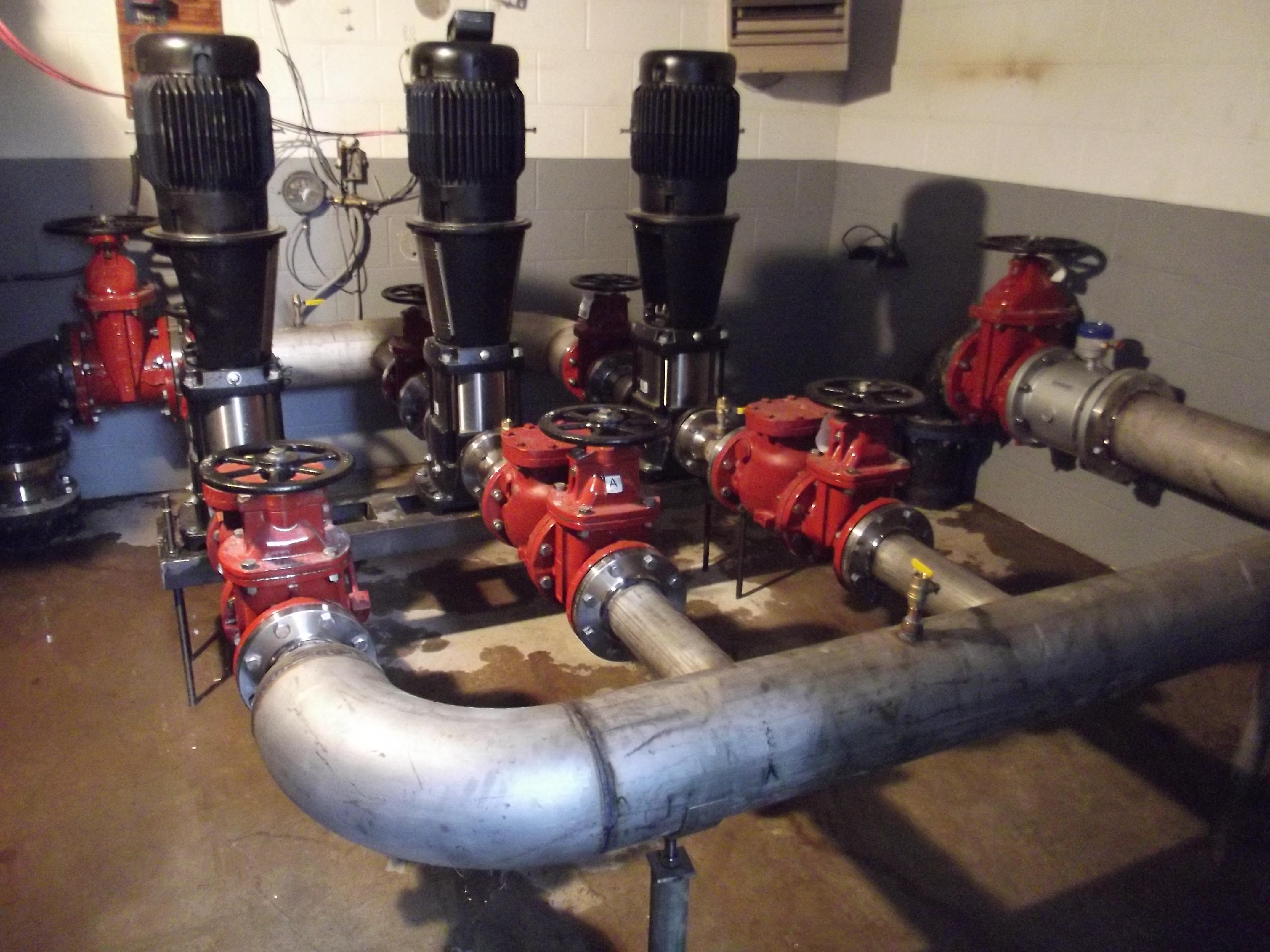 Pump Department | Cumberland Machine Company